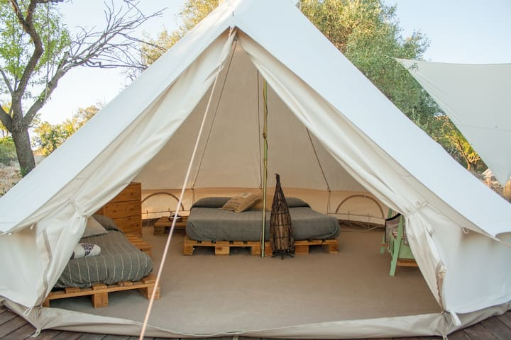 Cool camping in Noto