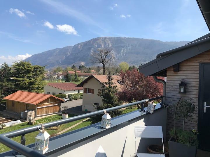 Cosy appartement / Vue sur Genève