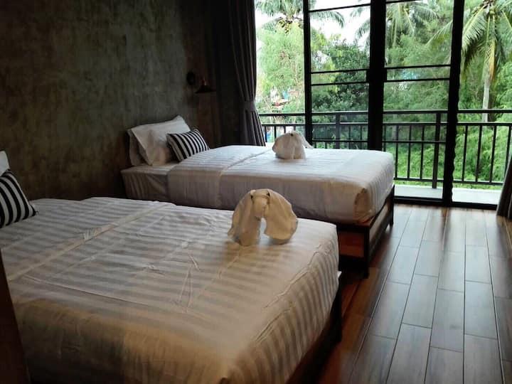 ลันตา ชาวเล Lanta Chaolay Hostel (Twin Bed)