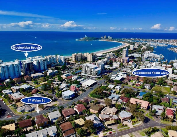 Bright Spacious 3BR APT in the Heart of Mooloolaba