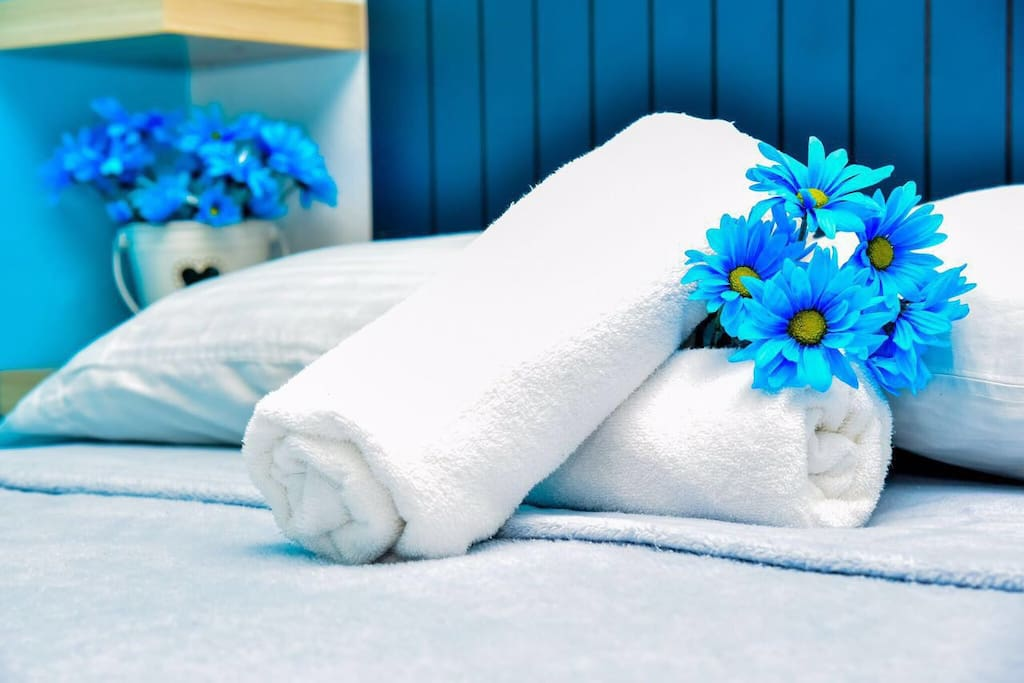 Bath Towels And beach towels provided during your stay  !
