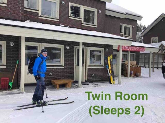 Alpine Backcountry Lodge Tomamu (Twin Room B)
