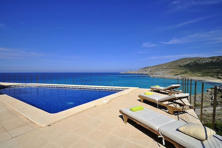 House for 12 people in Cala Mesquida with sea view - Cala Mesquida - Chalé