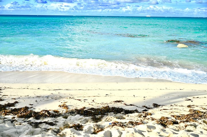 Sandy Port Beach 3 minutes away just waiting for you to enjoy!