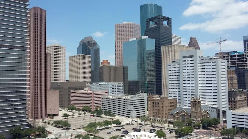 20th Floor Downtown High Rise Apt - Houston - Lejlighed