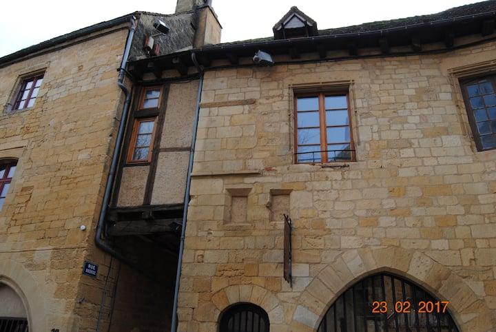 Gîte au coeur de la cité médiévale de Gourdon