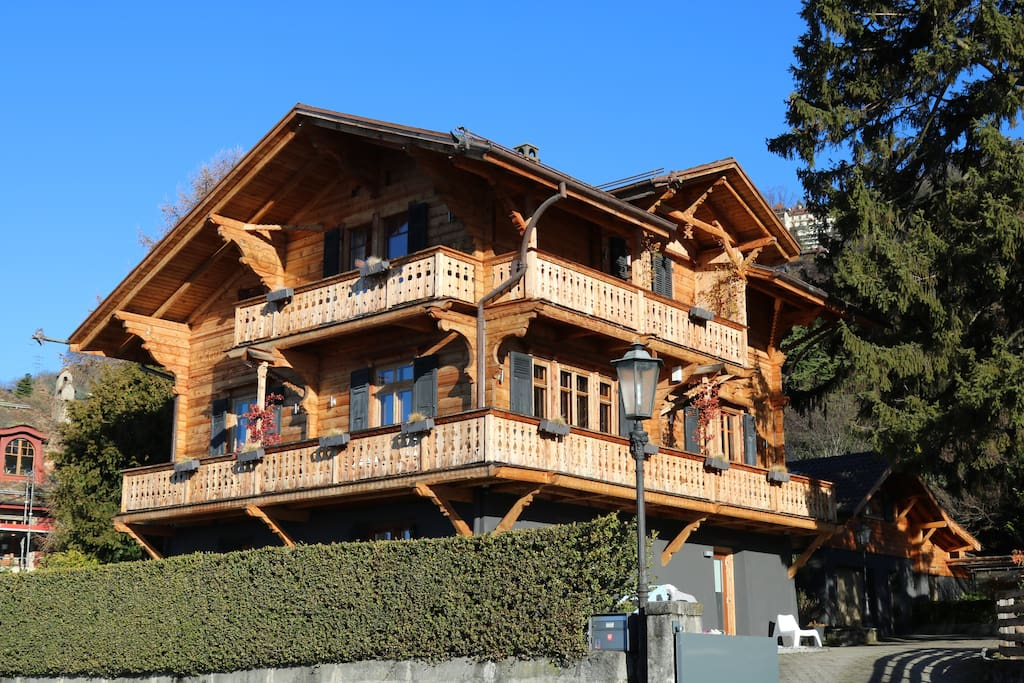 Gated chalet, built in 1906