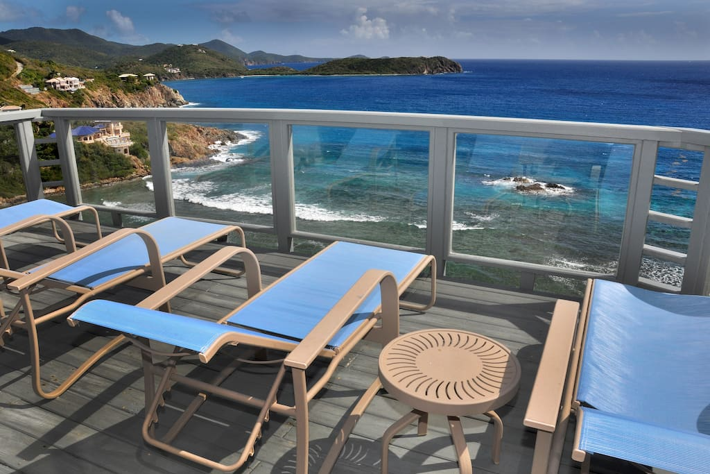 Oceanport Walk To Hart Bay Villas For Rent In Cruz Bay