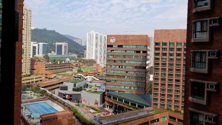 Sha Tin Station@Cozy Apartment@New Town Plaza