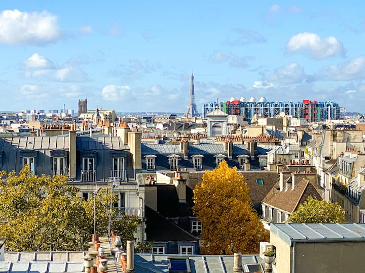The most beautiful view on Paris - LUXURY FLAT
