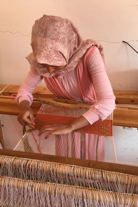 Tamgounssi Craft Centre Weaving
