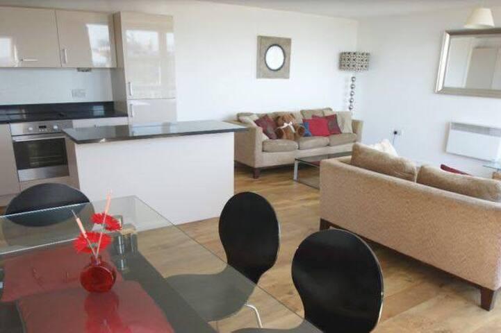 Heathrow Airport large double room - West Drayton - Apartamento