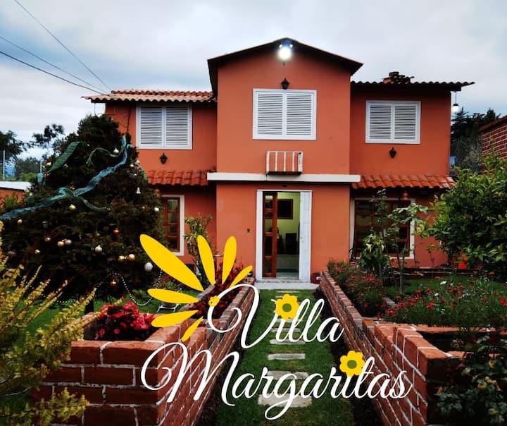 Villa Margaritas, Un espacio para disfrutar