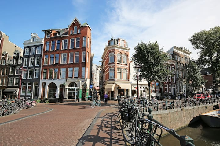 Pied a Terre in top located canal - Amsterdam - Apartment