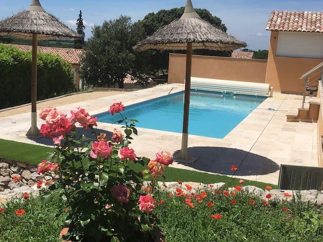 Les Oliviers du Verdon - La piscine