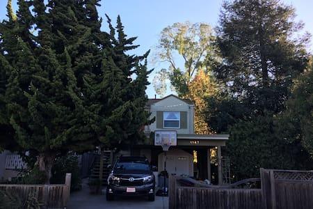 Sunny 2 Bedroom Creekside Home near UC Berkeley - Albany - Maison