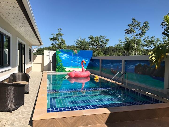 Ben's Pool Villa Aonang (Baan Techin)
