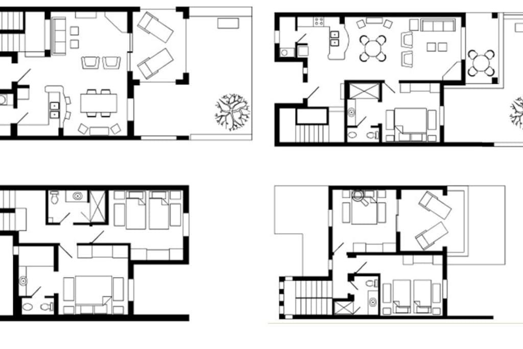 Villa masterplan