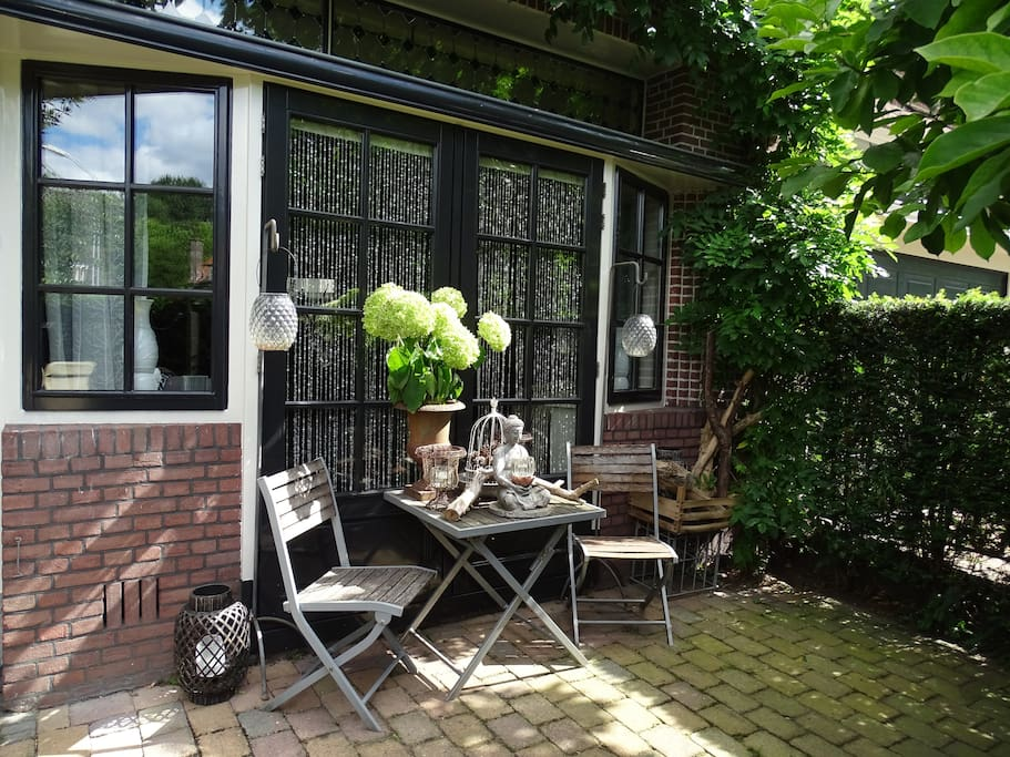 Small sunny front garden