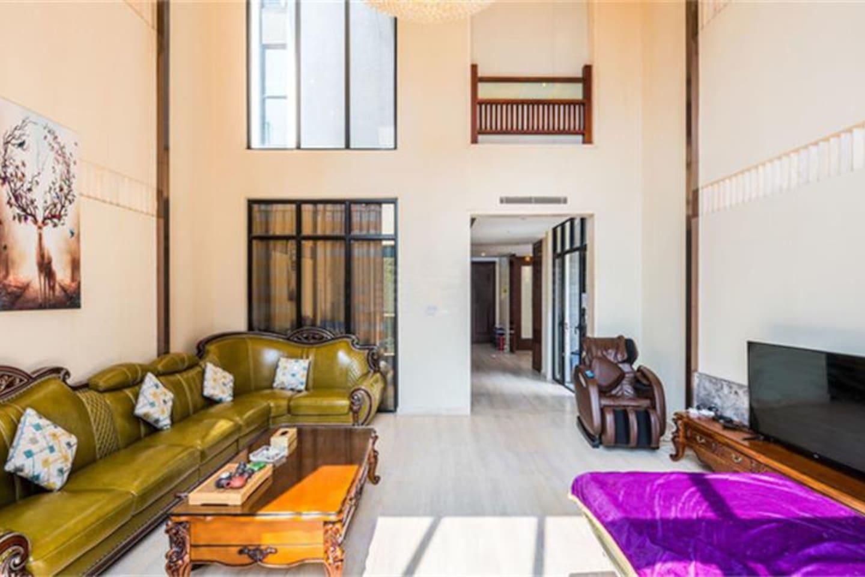 超豪10房带泳池,小型会议室养生别墅
