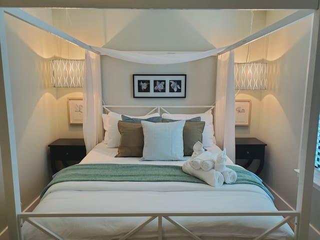 Second Bedroom with Roku TV.