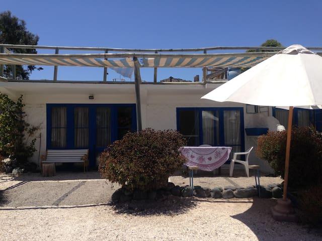 tongoy cabaña para 5 personas frente al mar - ลาเซอเรอนา - ทาวน์เฮาส์