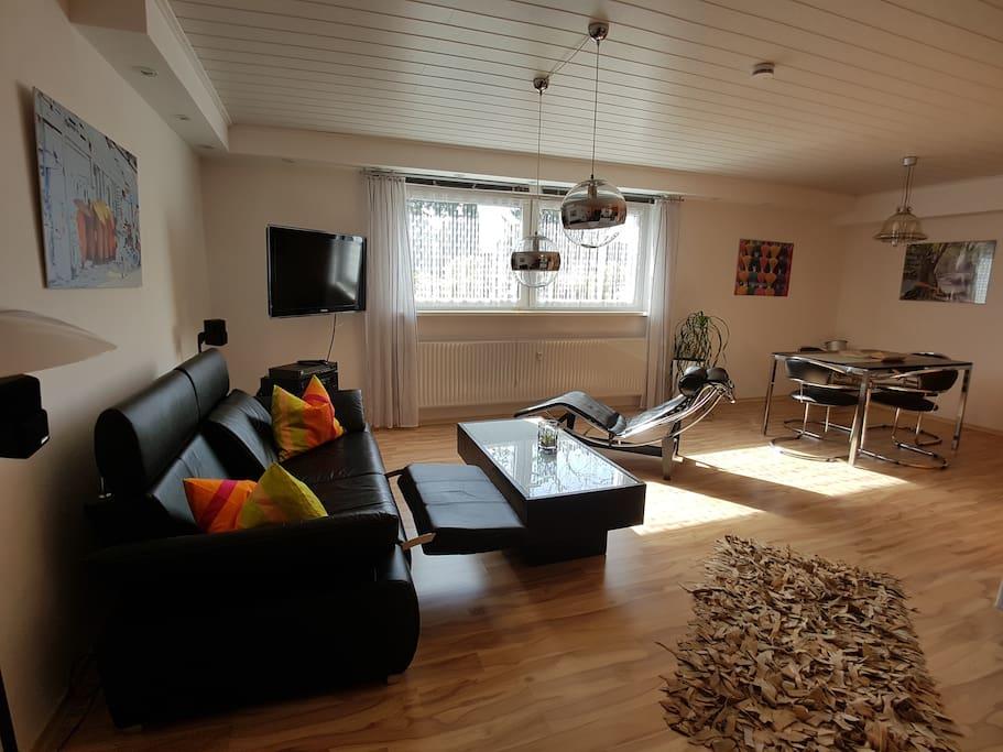 ferienwohnung sch n stylisch wohnen wohnungen zur miete. Black Bedroom Furniture Sets. Home Design Ideas