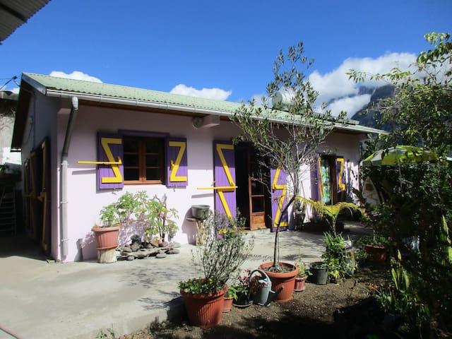 Le Patchouli, petite maison avec chauffage