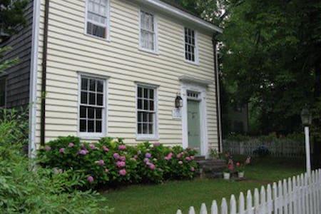 Sag Harbor Captains Row Historic circa 1761  Home - Sag Harbor - House