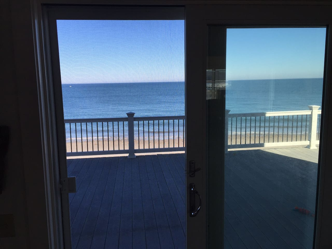 View to Ocean: yup its right out there, the Atlantic!