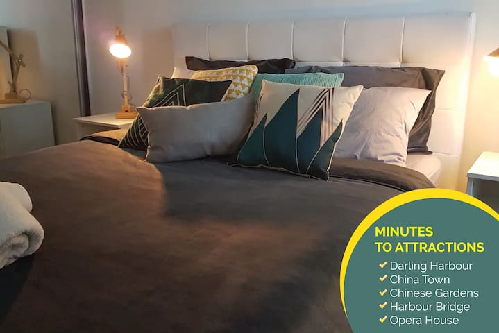 Sydney Unit - Close to china town + FREE PARKING