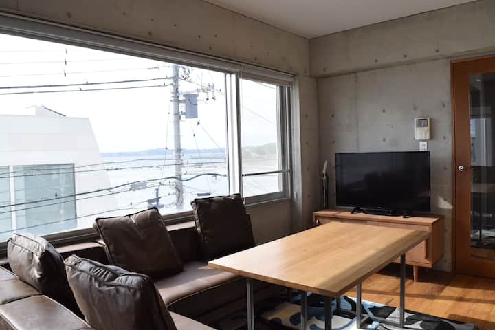 【Beach Front Property】Hayama Ocean House