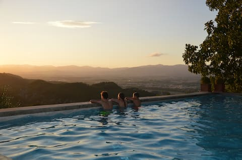 Rural Tuscany | Romantic studio with pool & tennis