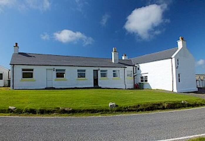 The Spiggie, Self catering lodge with great views