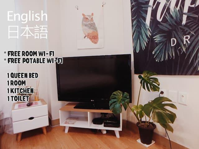[Sunny] #Cozy #Free Portable WiFi @3MIN AhyeonSTN