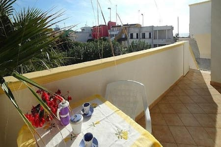 Apartment in Beach Location with Balcony, Air Conditioning and Wi-Fi