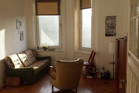 Cosy room in a cool flat - close to central city - Hamburg - Apartemen