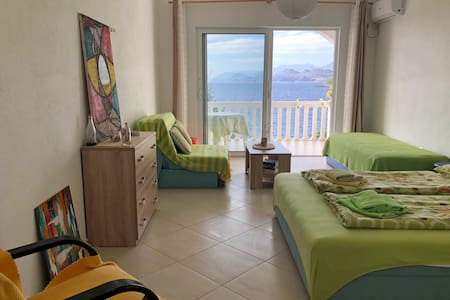 ❤DREAMSEA Apt Nº3 w/ Balcony, Garden & 5m to SEA❤