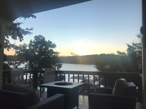 Sweet 3BR with great view of sunset, great fishing