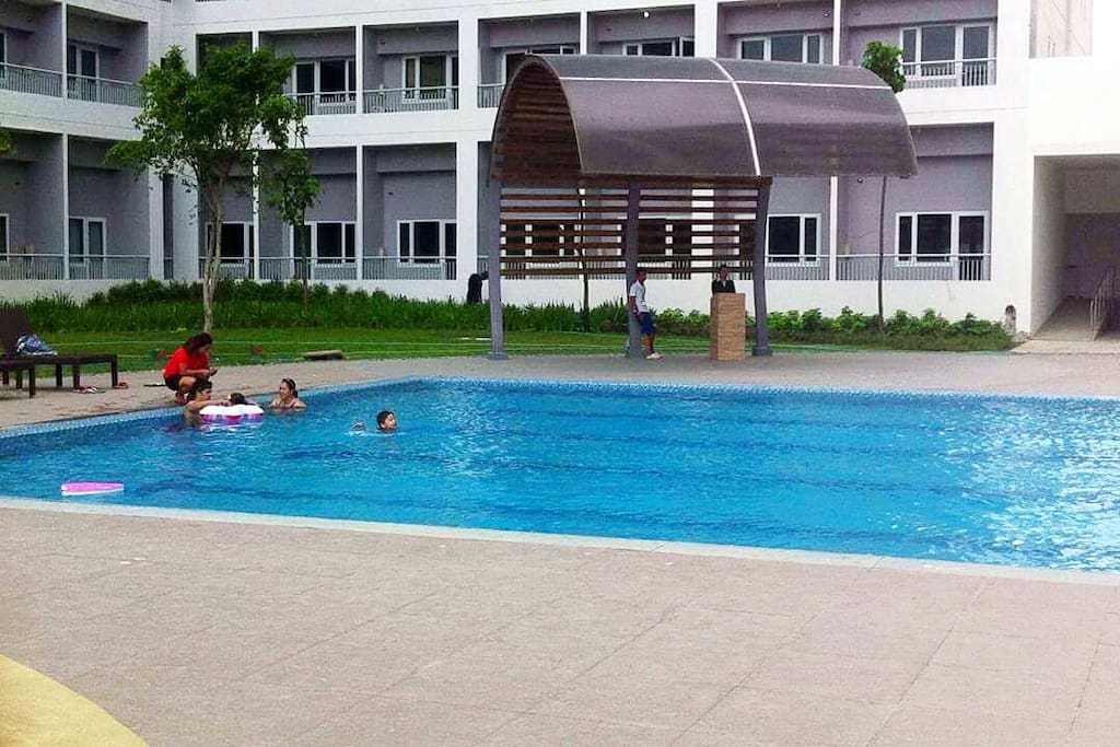 One of the swimming pools