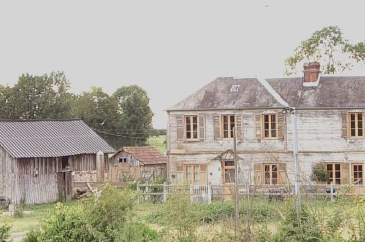 """""""Auberge de la Croix du Maupas"""" l'Ancienne ferme"""