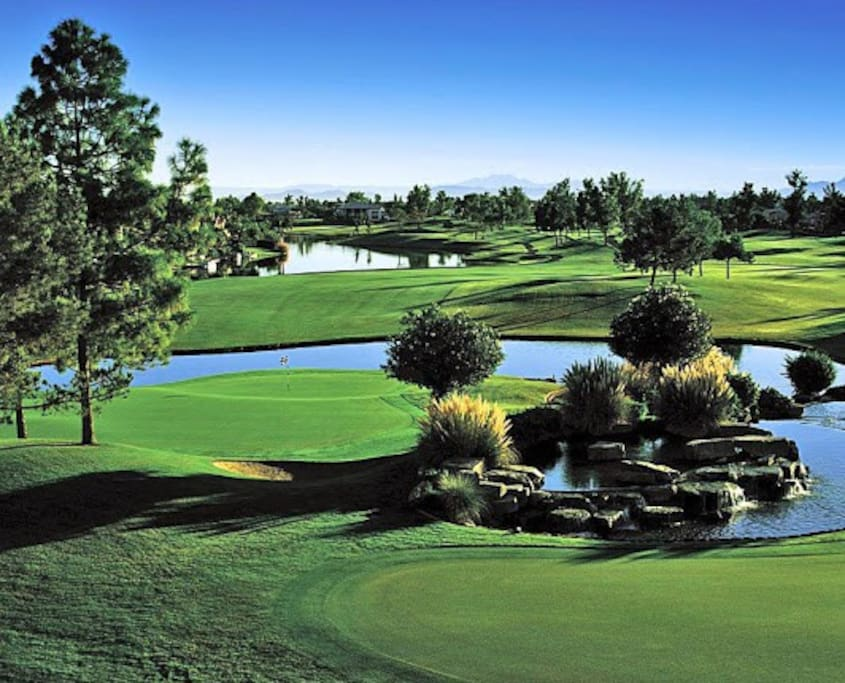 Ocotillo Golf Resort regarded as the most scenic golf course in all of Phoenix.