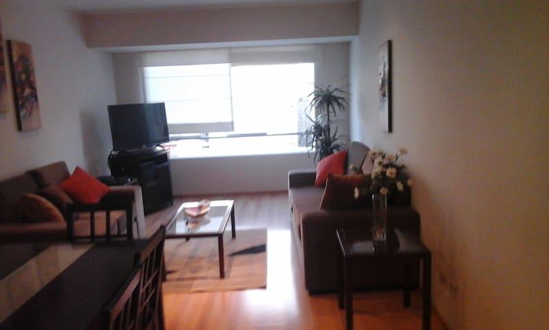 Nice apartment in Miraflores Lima - Miraflores District - Leilighet