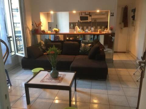 Charmant Appartement Buttes Chaumont