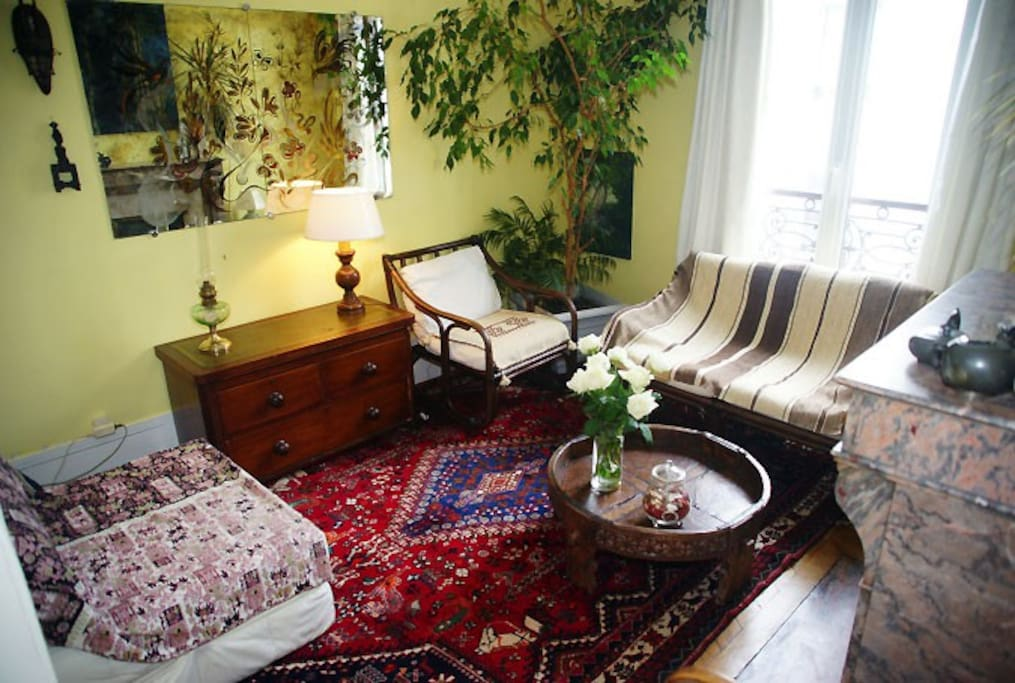 Appartement de charme rue daguerre apartments for rent - Au salon rue daguerre ...