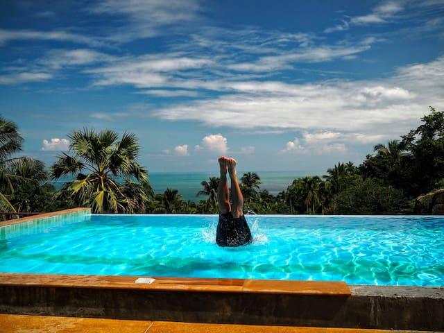 Three-bed villa, 2 bedrooms, Amazing views