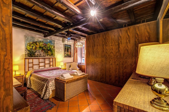 Romantic Trastevere San Egidio square Lovely Flat