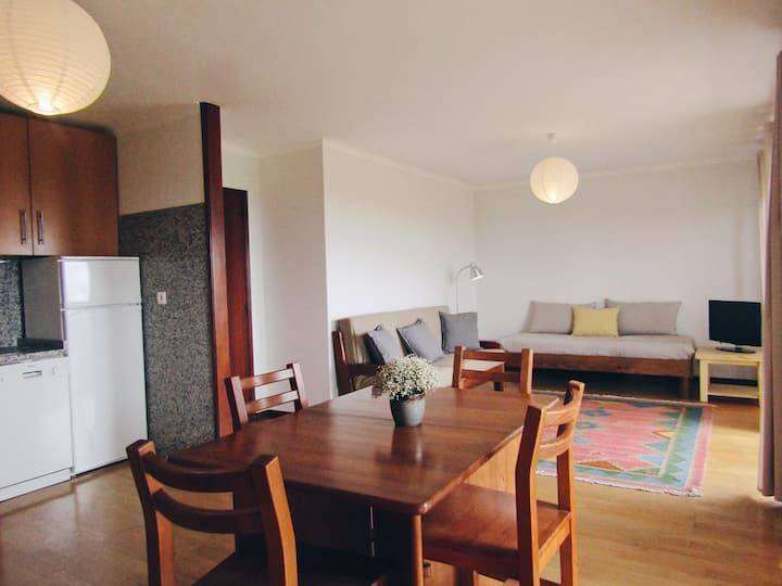 Sunny and spacious apartment