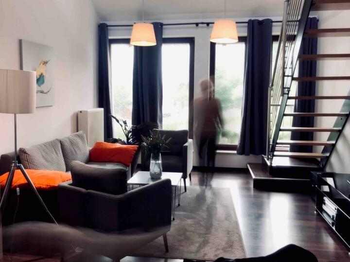 Messenahe günstig gelegene Maisonette-Wohnung