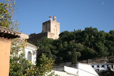 Magnificent location with beautiful view. Albayzin - Granada